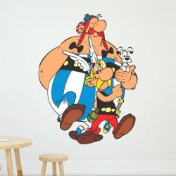 Vinilo infantil Asterix & Obelix