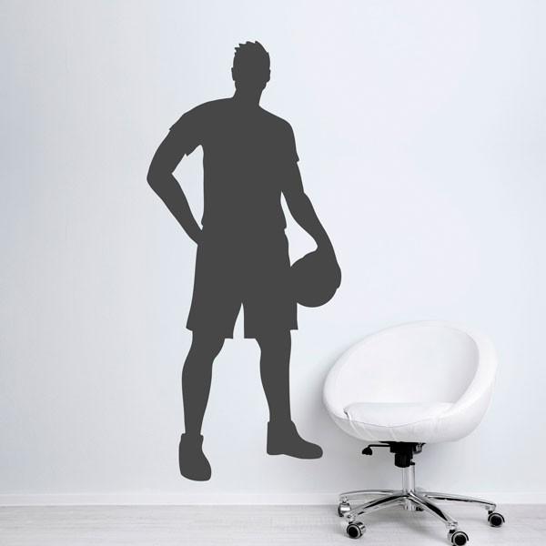 Vinilo jugador de baloncesto