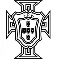 Vinilo escudo de Portugal