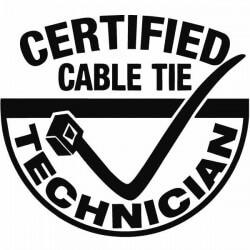 Vinilo certified cable tie