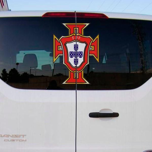 Pegatina logo Portugal