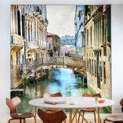 Fotomural pintura de Venecia