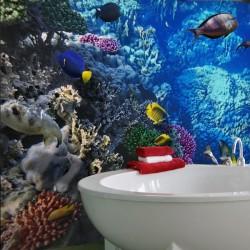 Tropical aquarium Wall mural