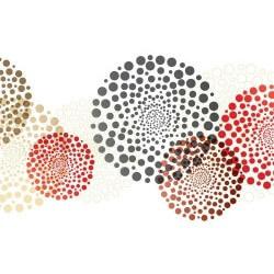 Sticker meubles cercles