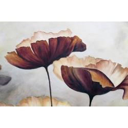 Photo murale fleurs illustrées