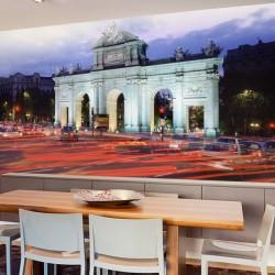 Photo murale vie en ville