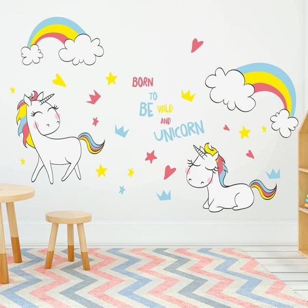 Unicorns Wall Sticker