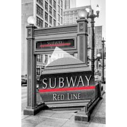 Fotomural Metro de Chicago