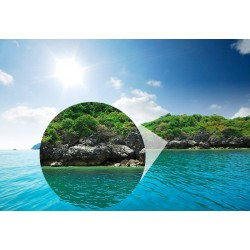 Fotomural isla desierta