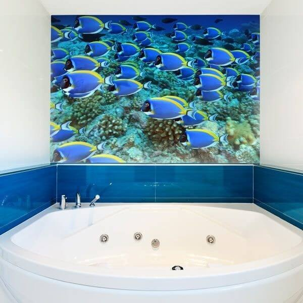 Decorative Mural Fish Shoal