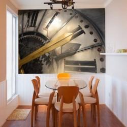 Decorative Mural Big Ben Clock