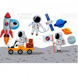 Astronaut children sticker