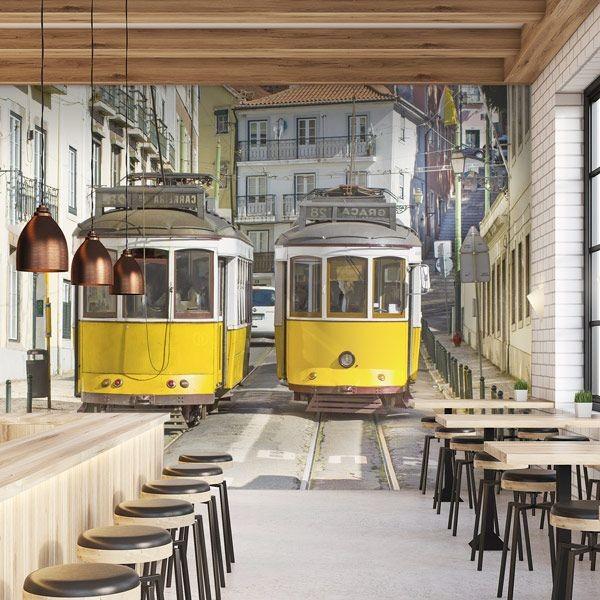 Photo murale metrô Lisboa