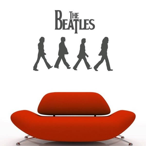 Vinilo decorativo Beatles