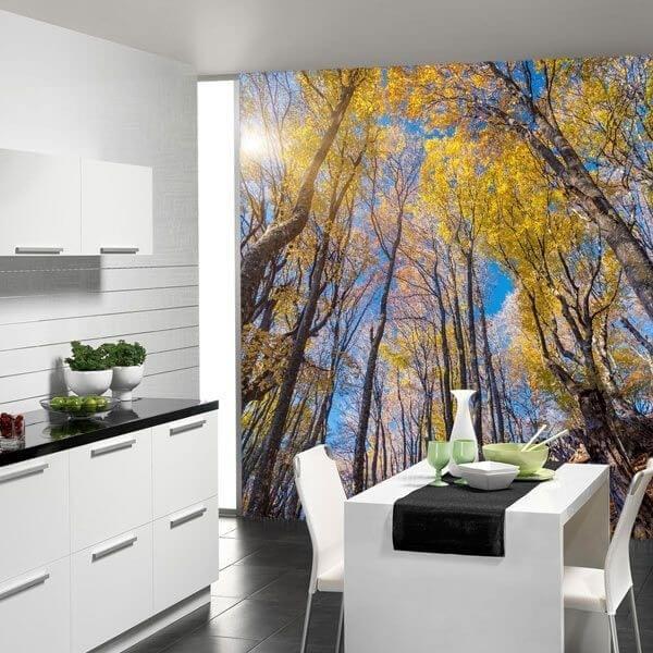 Adhésif mural forêt