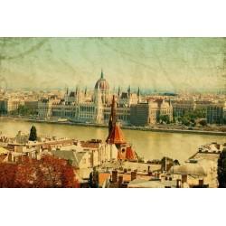 Mural de pared Budapest