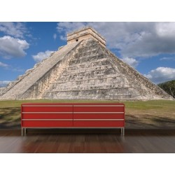 Mural en vinilo Chichén Itzá