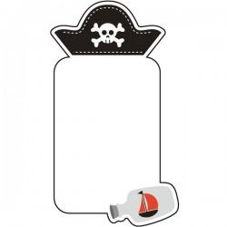 Vinilo pizarra vileda pirata