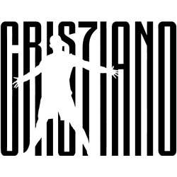 Vinilo logo Cristiano Ronaldo