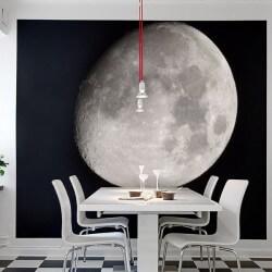 Wall Mural Night Moon