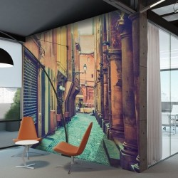 Mural de pared callejón 4