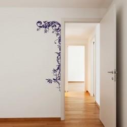 Adhesivo decorativo floral 2