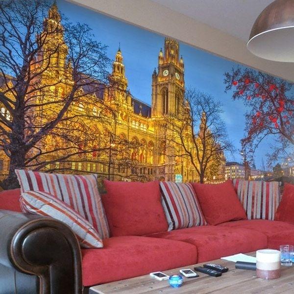 Mural atracciones de Viena