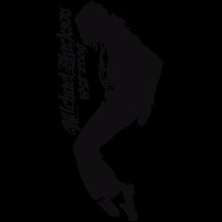 Adhesivo decorativo Michael Jackson