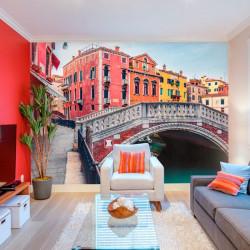 Fotomural puente en Venecia