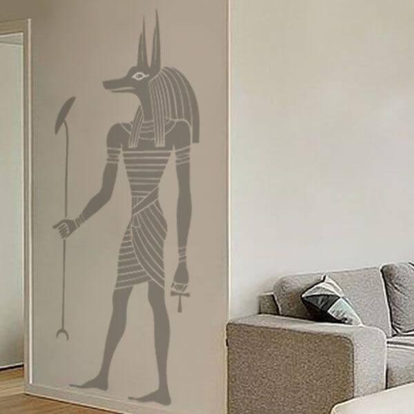 Vinilo decorativo guardia egipcio