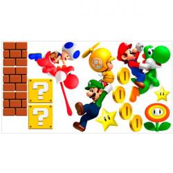 Vinilo super Mario bros