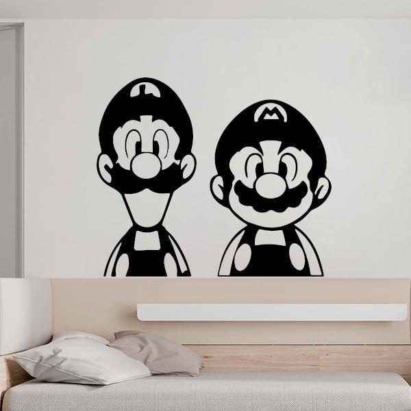 Vinilo super Mario y Luigi