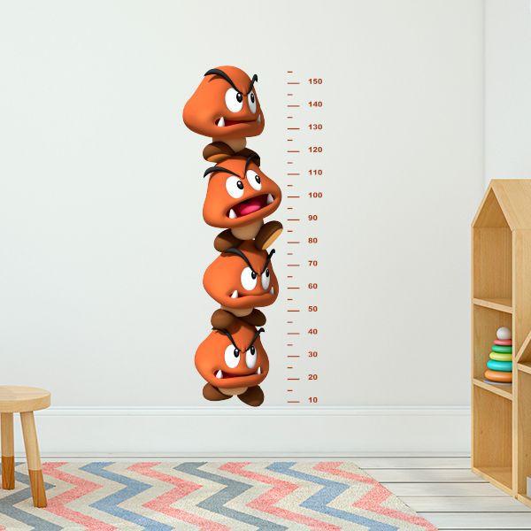 Vinilo medidor Paragoomba, super Mario