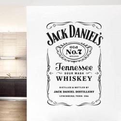 Vinilo de pared Jack Daniels