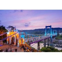 Fotomural puente de Daxi