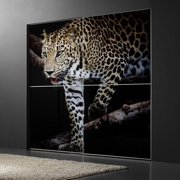 Fotomural leopardo africano