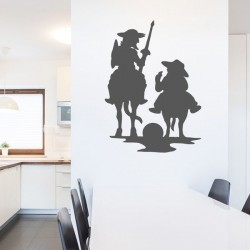 Vinilo Decorativo Don Quijote