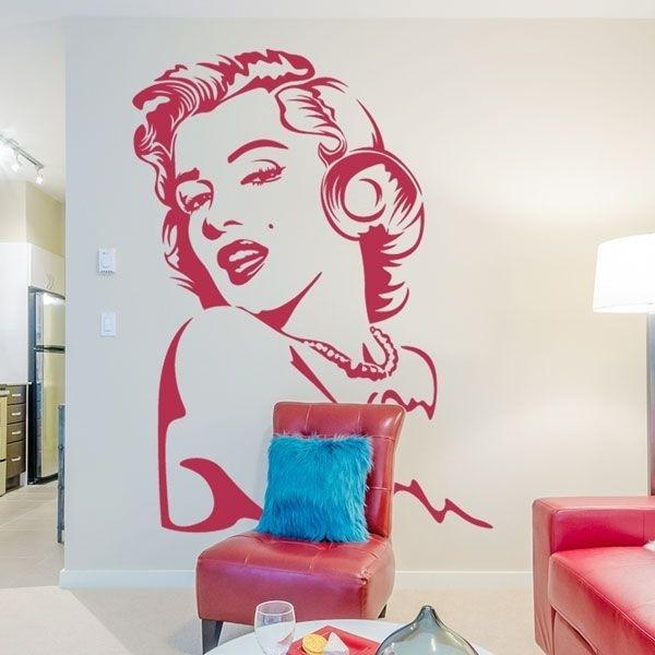 Vinilo decorativo Marilyn Monroe