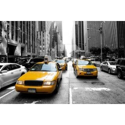 Fotomural taxi en Nueva York 1