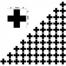 Pegatinas de pared cruces