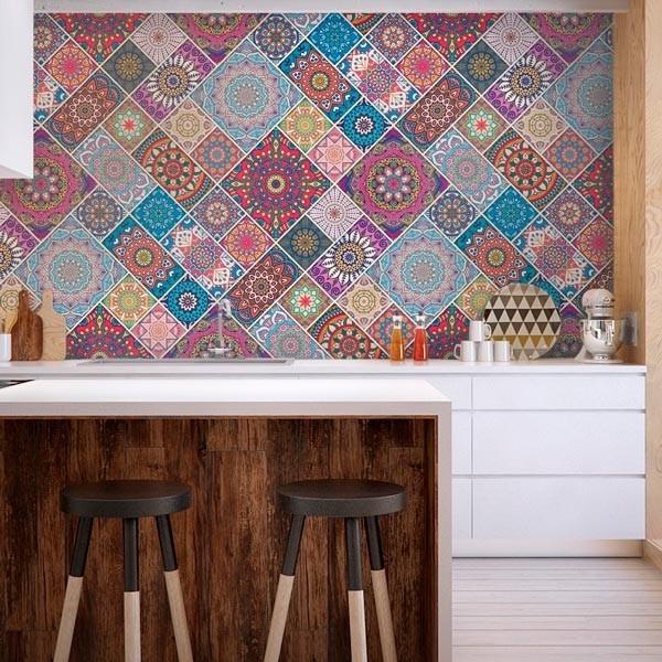 Adhesivo azulejo mandalas 2