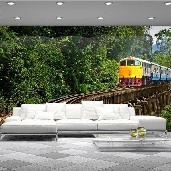 Fotomural de Tren antiguo
