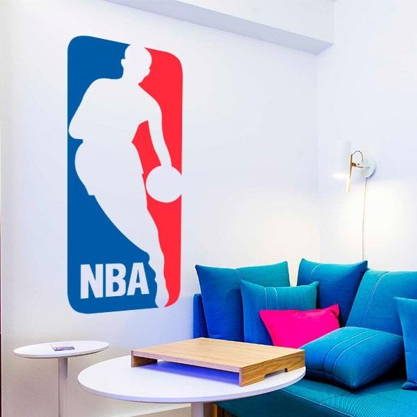 Pegatina logo NBA