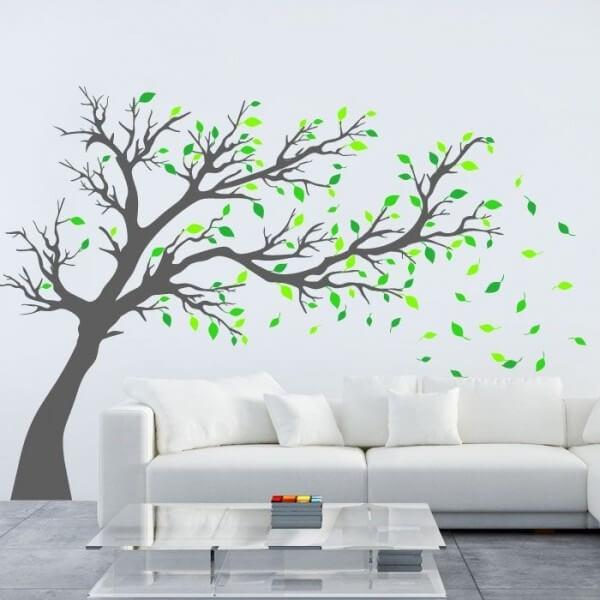 Wall sticker tree 17