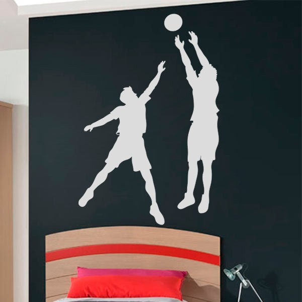 Vinilo jugadores de baloncesto